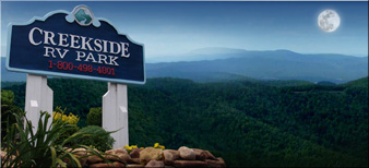 RV Park Pigeon Forge CAMPGROUND PIGEON FORGE TN - CREEKSIDE RV PARK - GOOD SAM PARK #1 CHOICE
